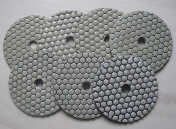 Schleifpads für Granit Trocken