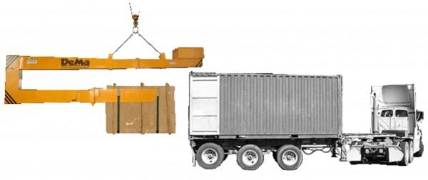 Ladehilfe für Container
